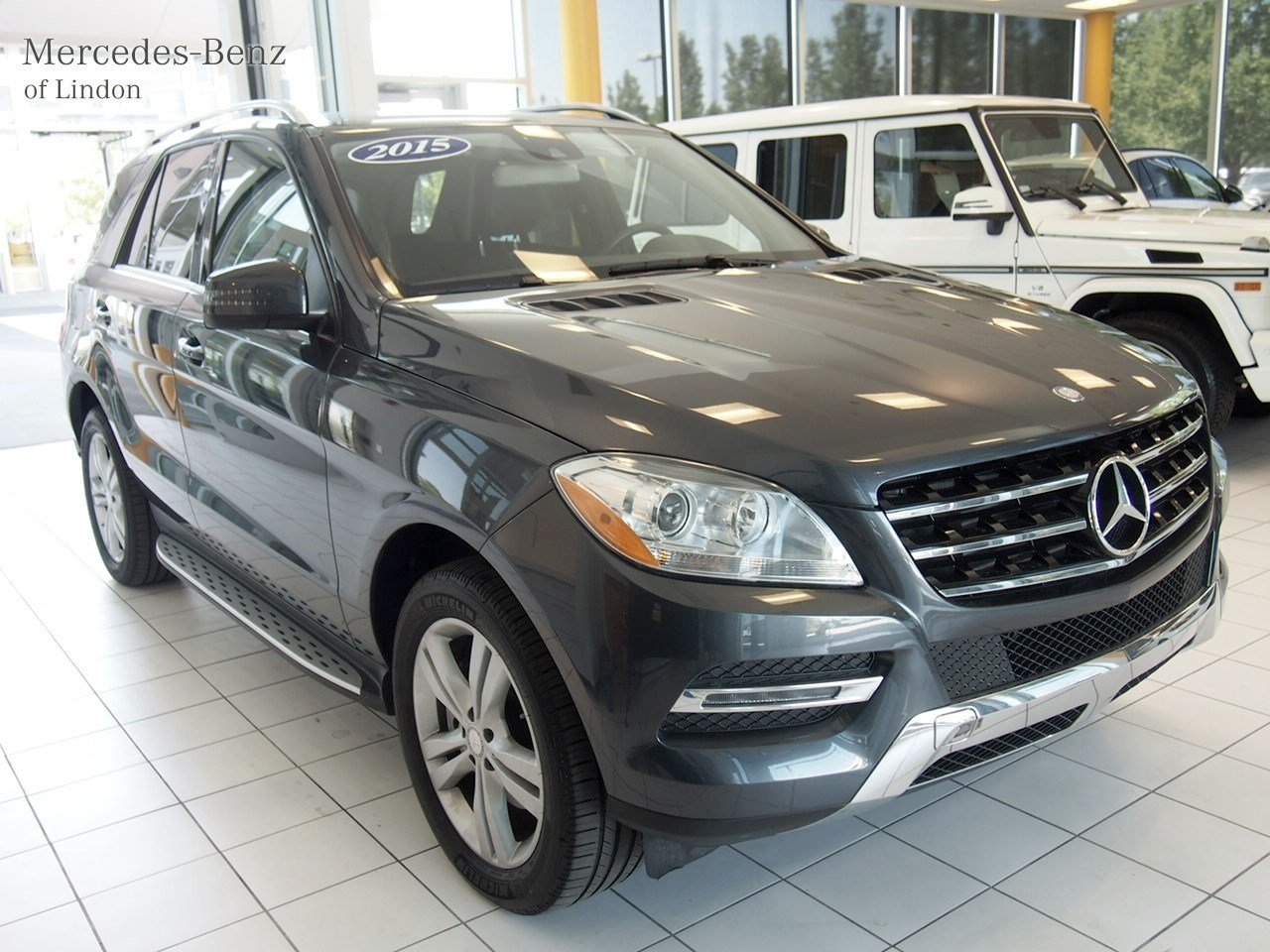 Pre owned 2015 mercedes benz m class ml 250 bluetec suv for Mercedes benz buckhead preowned