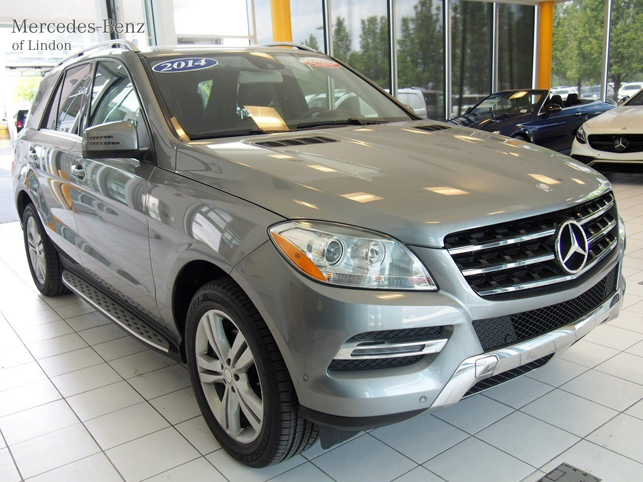 Pre owned 2014 mercedes benz m class ml 350 suv in lindon for Pre owned mercedes benz suv