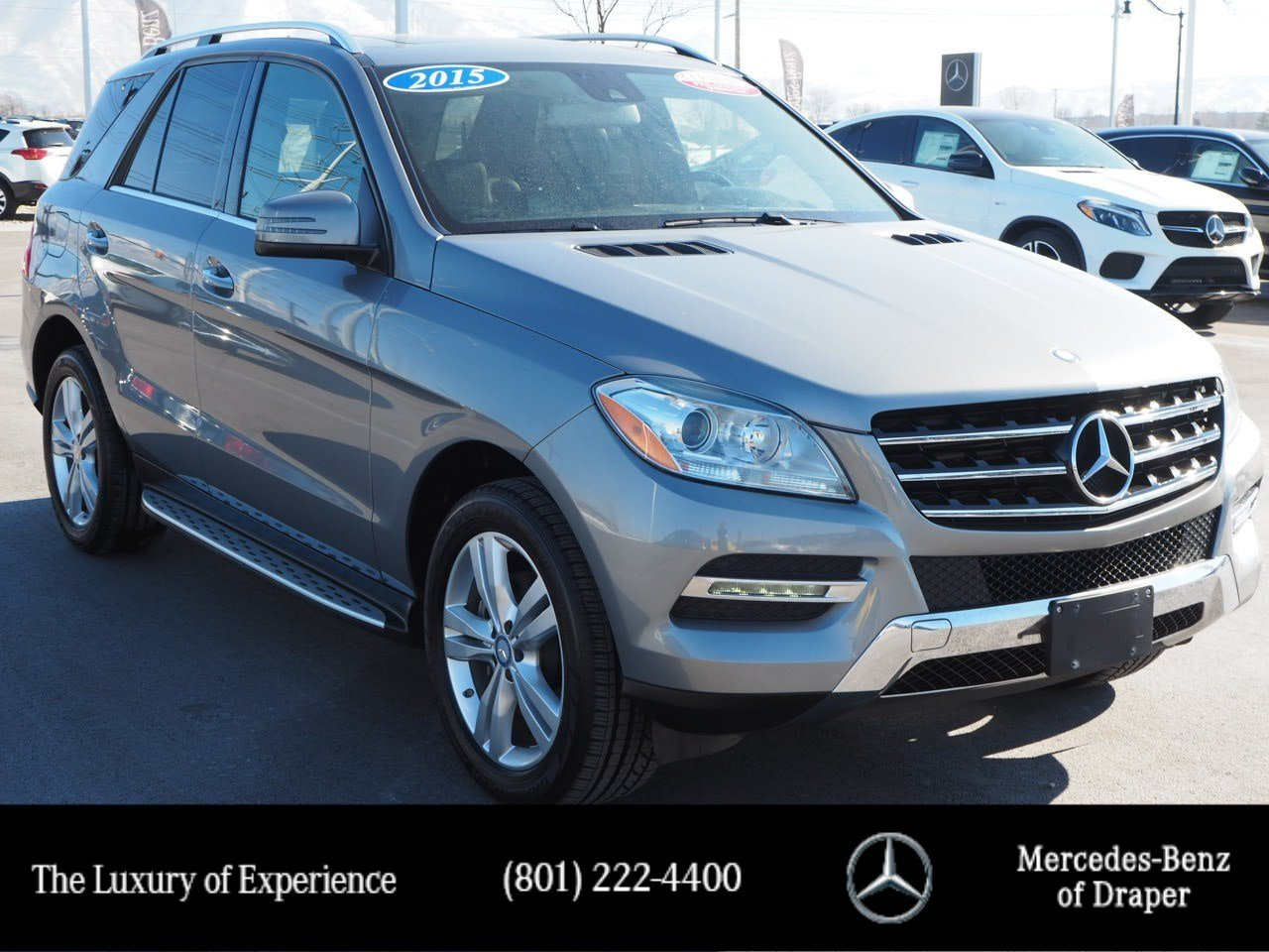 Certified Pre-Owned 2015 Mercedes-Benz M-Class ML 350 4MATIC®