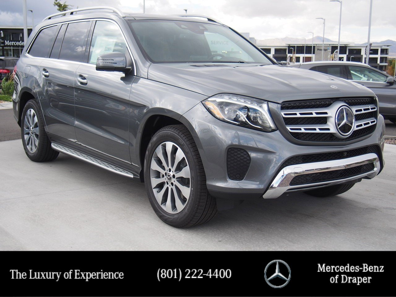 New 2019 Mercedes Benz Gls 450 4matic Suv In Draper Kb204098 C230 Panel Speaker On Wiring Harness For Trailer Hitch