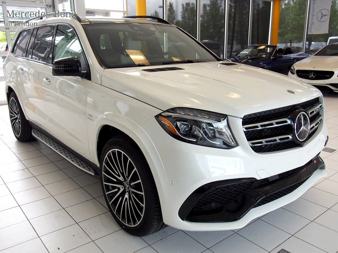 New 2017 mercedes benz gls amg gls 63 4matic suv in for Mercedes benz b3 service