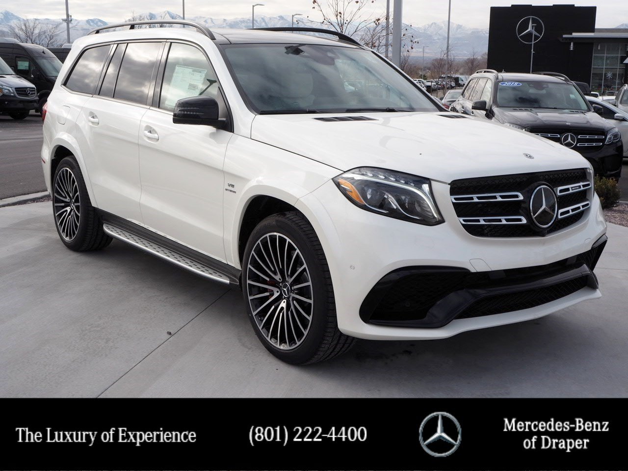 New 2019 Mercedes-Benz GLS AMG® 63 4MATIC®