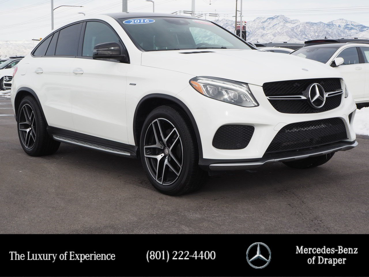 Certified Pre-Owned 2016 Mercedes-Benz GLE 450 AMG® 4MATIC®