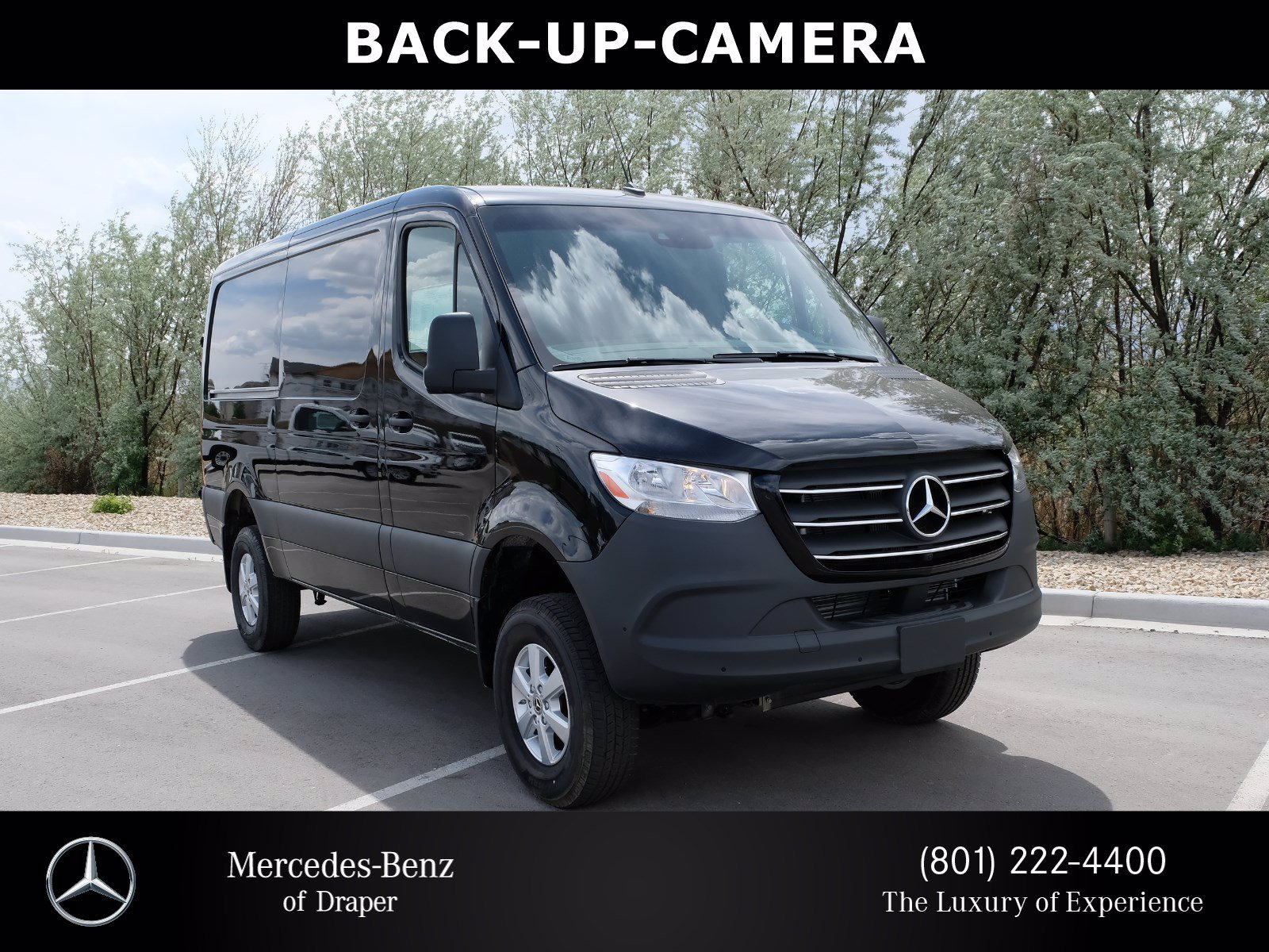 New 2020 Mercedes-Benz Sprinter Cargo Van 4X4