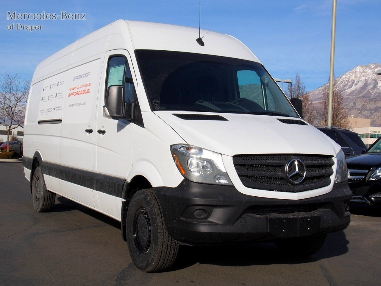 New 2017 mercedes benz sprinter cargo vans worker cargo for New mercedes benz sprinter