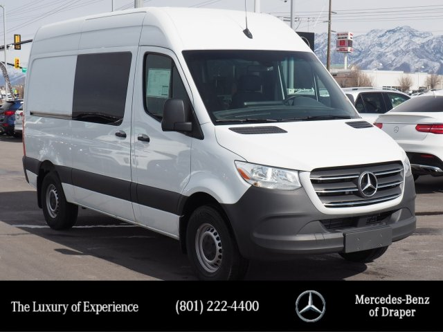 New 2019 Mercedes-Benz Sprinter Crew Vans 2500 High Roof V6 144 RWD