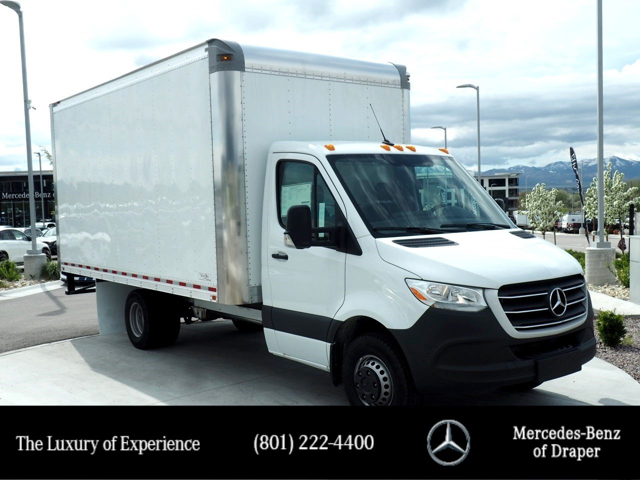 New 2019 Mercedes-Benz Sprinter Specialty Vehicles Box