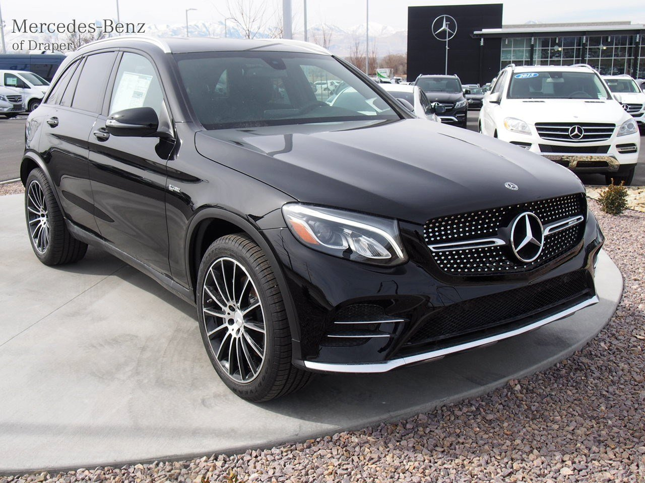 new 2018 mercedes benz glc glc 43 amg 4matic suv in draper jv011871 mercedes benz of draper. Black Bedroom Furniture Sets. Home Design Ideas