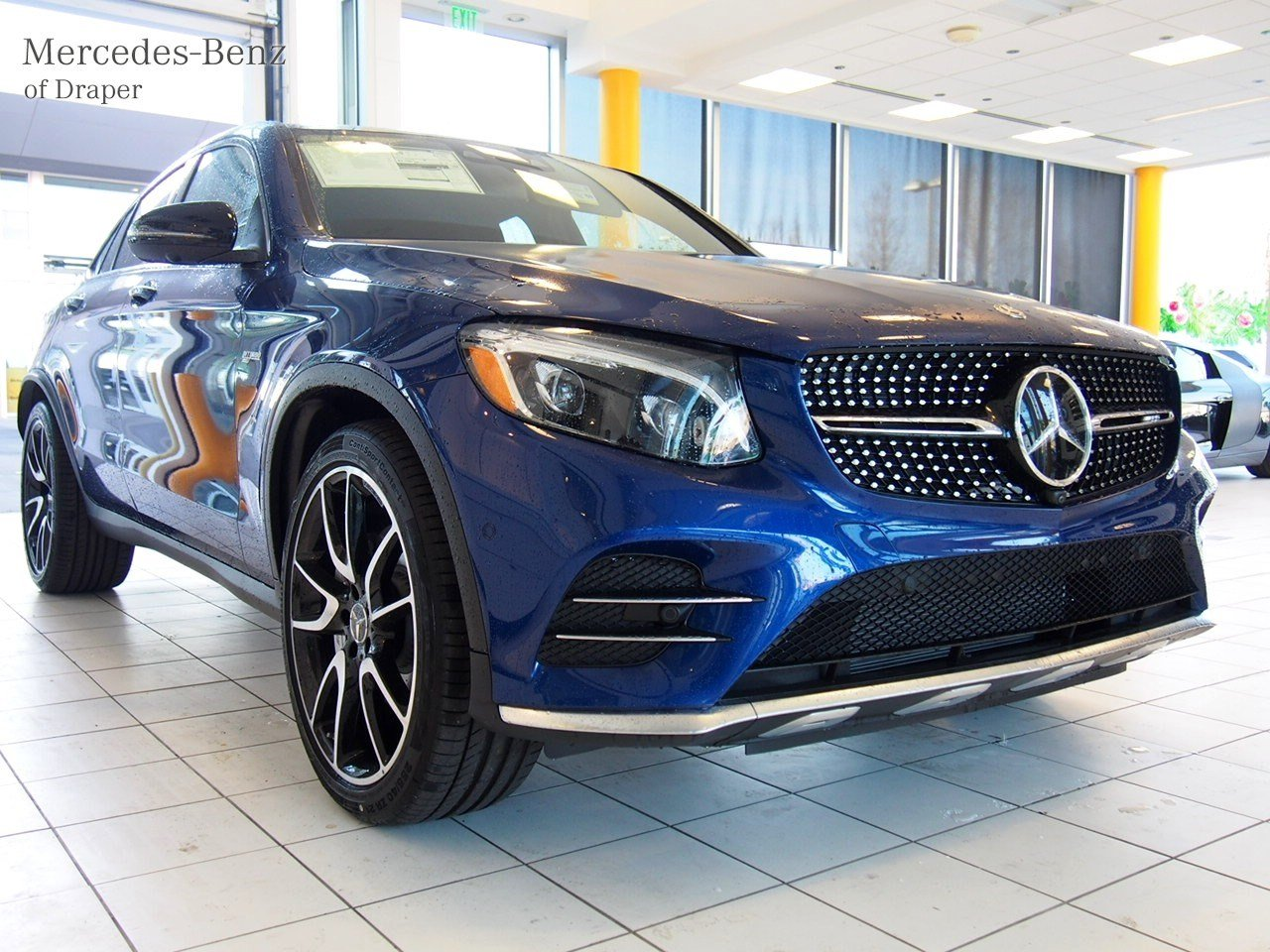 new 2018 mercedes benz glc amg glc 43 4matic coupe in draper jf367092 mercedes benz of draper. Black Bedroom Furniture Sets. Home Design Ideas