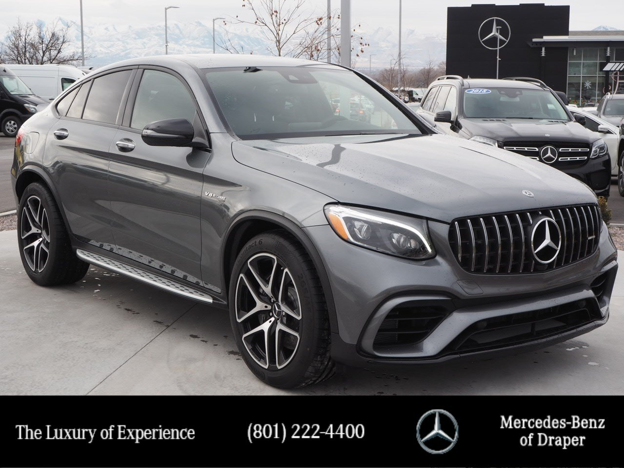 Mercedes Benz 4Matic >> New 2019 Mercedes Benz Glc Amg 63 4matic Coupe In Draper Kf488915