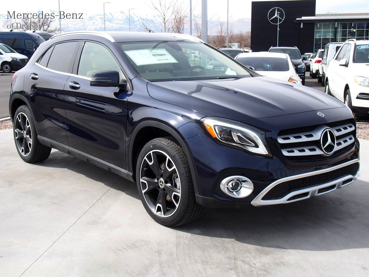 new 2018 mercedes benz gla gla 250 4matic suv in draper jj460223 mercedes benz of draper. Black Bedroom Furniture Sets. Home Design Ideas