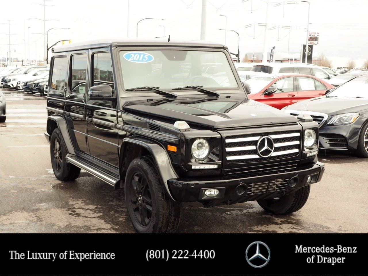 Pre-Owned 2015 Mercedes-Benz G-Class G 550 4MATIC®