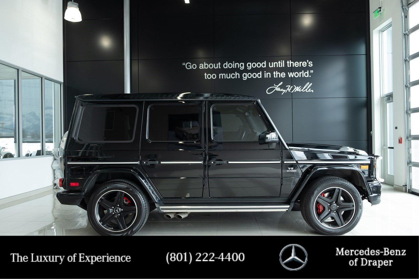 Certified Pre-Owned 2014 Mercedes-Benz G-Class G 63 AMG® 4MATIC®