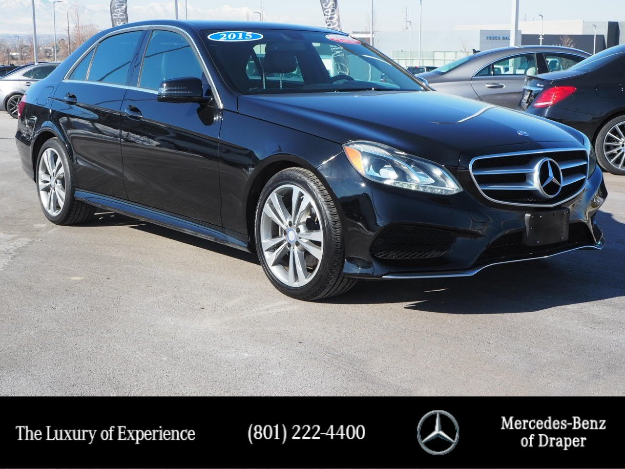 Certified Pre-Owned 2015 Mercedes-Benz E-Class 4MATIC®