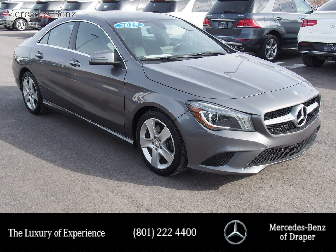 Certified Pre-Owned 2015 Mercedes-Benz CLA 250
