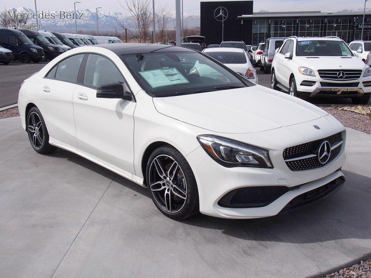 New 2018 mercedes benz cla cla 250 4matic coupe in draper for Mercedes benz financial payment address