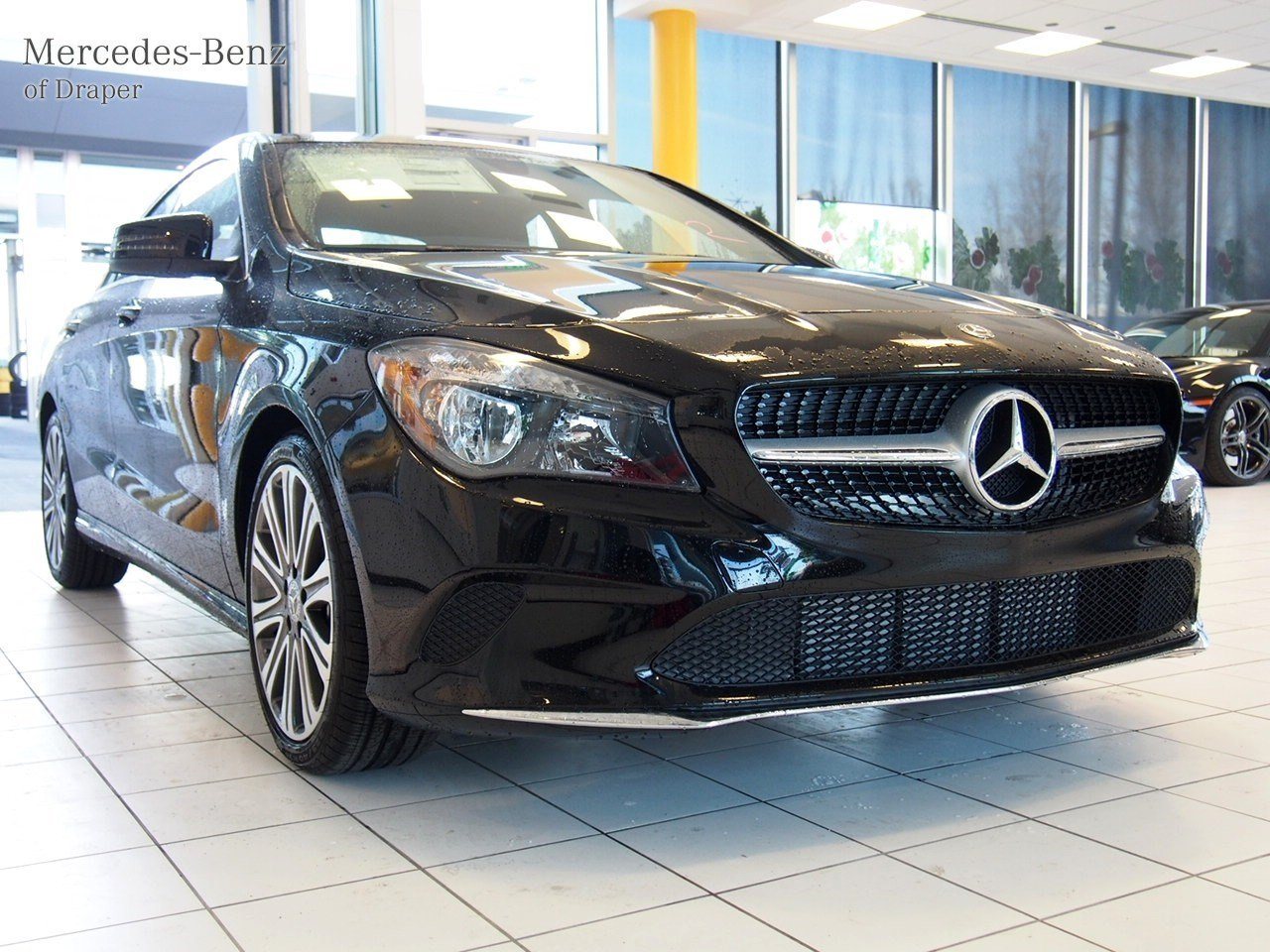 New 2018 mercedes benz cla cla 250 4matic coupe in draper for Mercedes benz cla 500