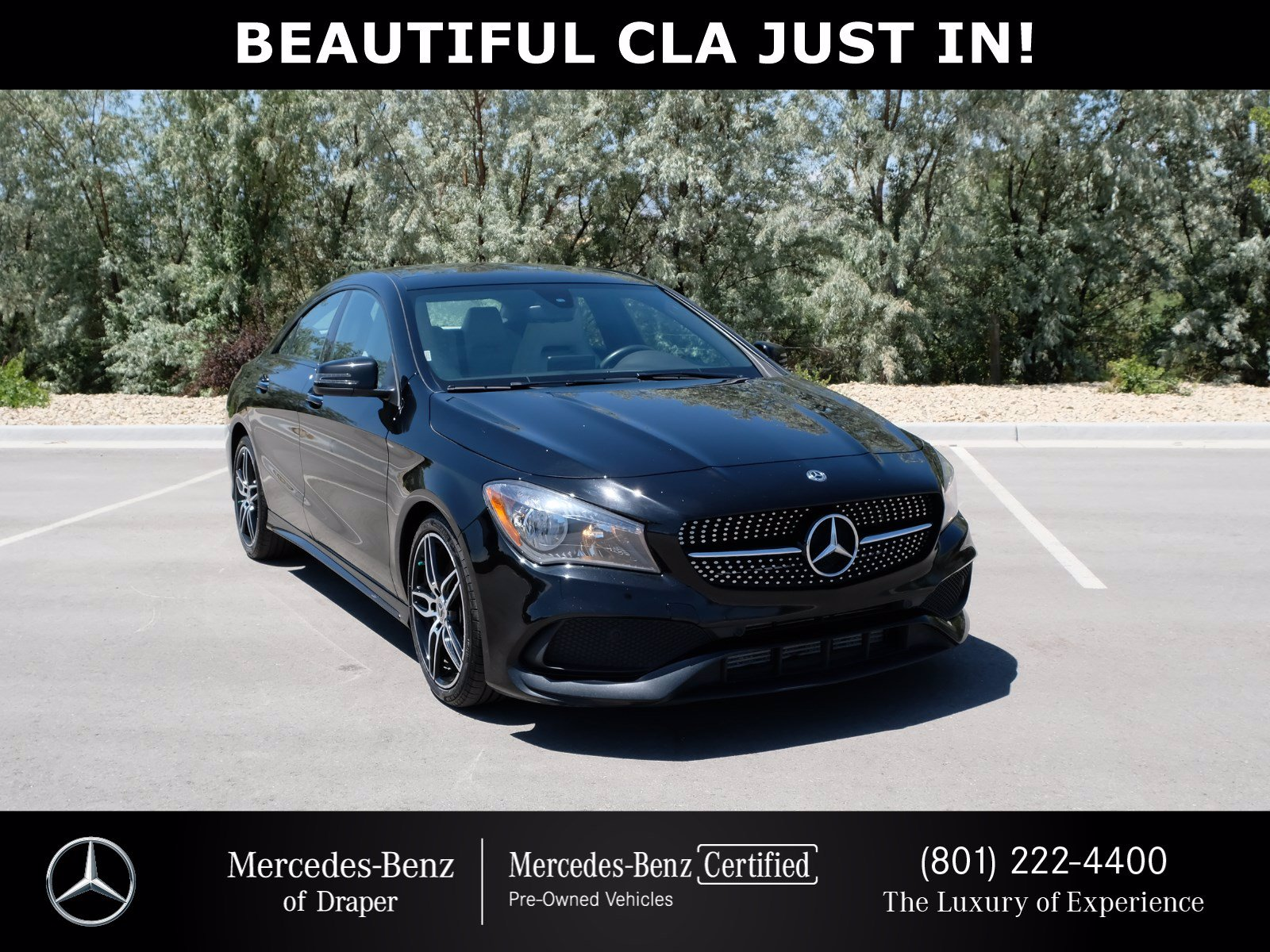 Certified Pre-Owned 2018 Mercedes-Benz CLA 250 4MATIC®