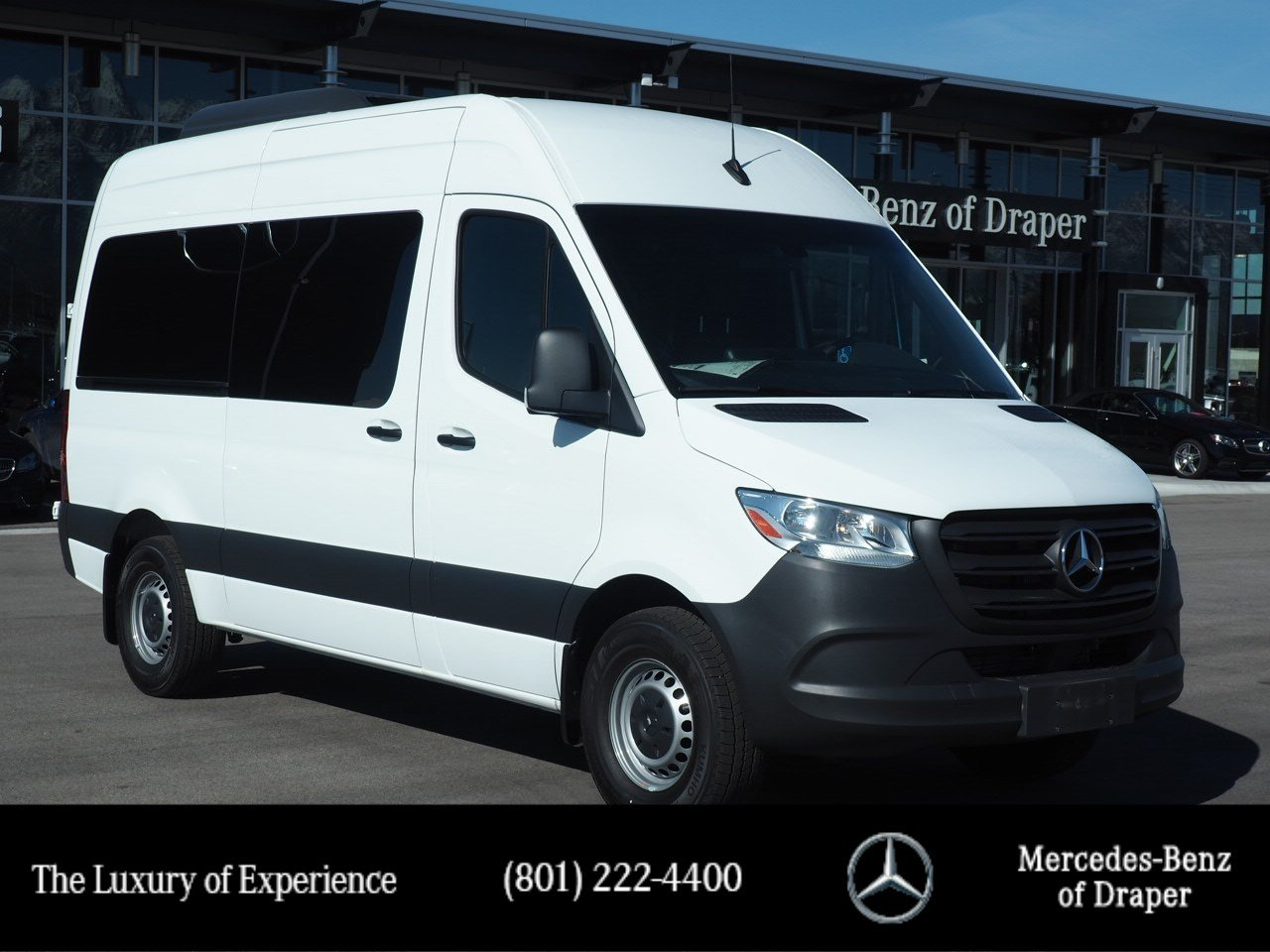New 2019 Mercedes-Benz Sprinter Passenger Vans RWD