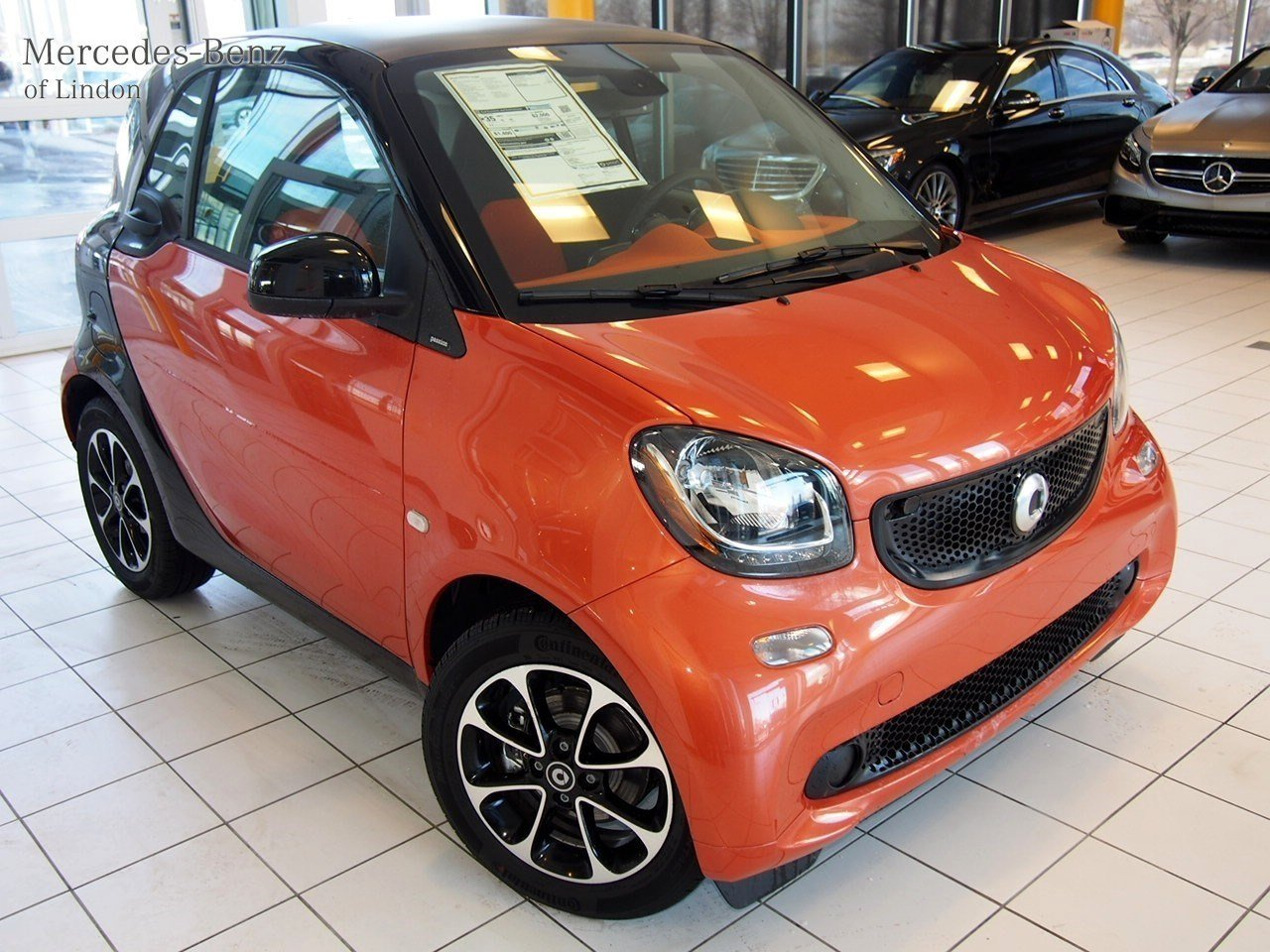 Pre-Owned 2016 smart 2dr Cpe Passion Rear Wheel Drive