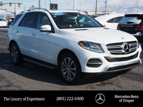 Certified Pre-Owned 2016 Mercedes-Benz GLE 350 4MATIC®