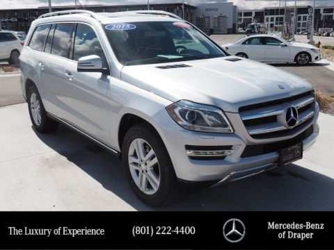 Pre-Owned 2015 Mercedes-Benz GL GL 450 4MATIC®