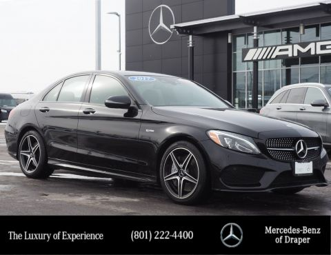 Certified Pre-Owned 2017 Mercedes-Benz C-Class AMG® C 43 4MATIC®