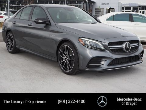 New 2019 Mercedes-Benz C-Class AMG C 43 4MATIC Sedan
