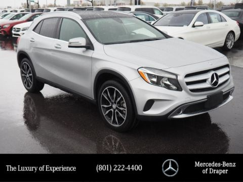 Certified Pre-Owned 2016 Mercedes-Benz GLA 250 4MATIC®