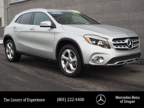 Pre-Owned 2018 Mercedes-Benz GLA GLA 250 FWD
