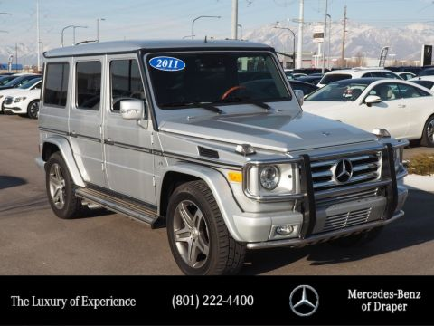 Pre-Owned 2011 Mercedes-Benz G-Class G 55 AMG® 4MATIC®