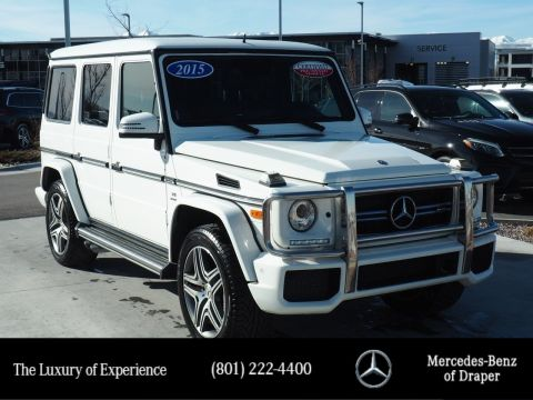 Certified Pre-Owned 2015 Mercedes-Benz G-Class G 63 AMG® 4MATIC®