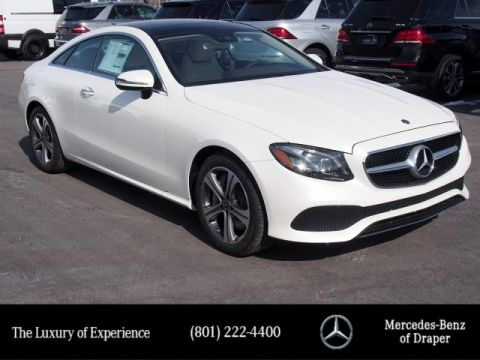 New 2019 Mercedes-Benz E 450 4MATIC® Coupe