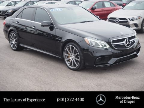 Pre-Owned 2014 Mercedes-Benz E-Class E 63 AMG® S-Model 4MATIC®