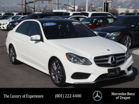 Pre-Owned 2016 Mercedes-Benz E-Class 4MATIC®