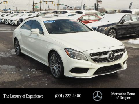Certified Pre-Owned 2015 Mercedes-Benz CLS CLS 550 4MATIC®