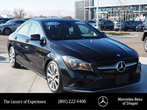 Certified Pre-Owned 2017 Mercedes-Benz CLA 250 4MATIC®