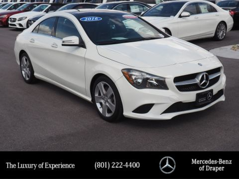 Pre-Owned 2016 Mercedes-Benz CLA 250 4MATIC®