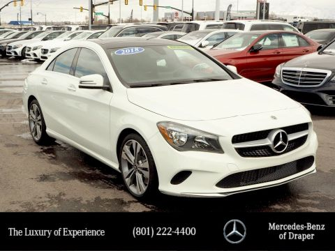Pre-Owned 2018 Mercedes-Benz CLA 250 4MATIC®