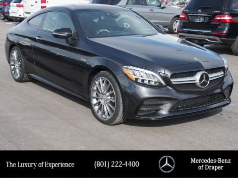 Pre-Owned 2019 Mercedes-Benz C-Class AMG C 43 4MATIC Coupe