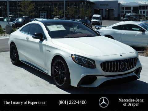 New 2019 Mercedes-Benz S-Class AMG® S 63 4MATIC® Coupe