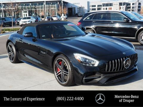 Certified Pre-Owned 2018 Mercedes-Benz GT AMG GT C Roadster