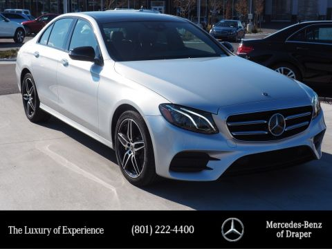 Pre-Owned 2019 Mercedes-Benz E-Class E 300 4MATIC Sedan