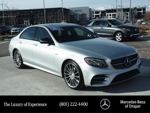 Certified Pre-Owned 2017 Mercedes-Benz E-Class AMG® E 43 4MATIC®