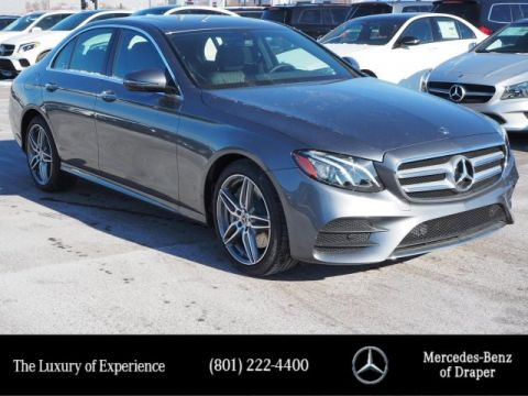 New 2019 Mercedes-Benz E 450 4MATIC® Sedan