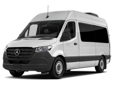 New 2019 Mercedes-Benz Sprinter Full-size Passenger Vans 2500 High Roof V6 144 4WD